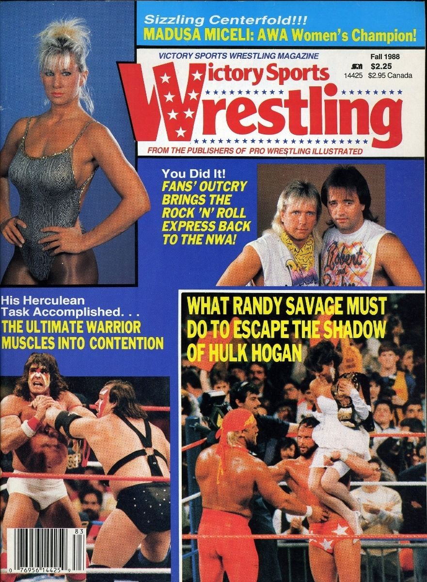 Victory Sports Wrestling - Fall 1988