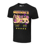 WrestleMania III Randy Savage vs. Ricky Steamboat Matchup T-Shirt