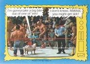 1987 WWF Wrestling Cards (Topps) Matilda & Davey Boy Smith 74