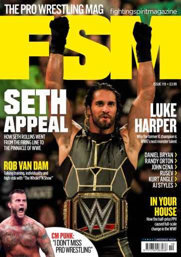 Fighting Spirit Magazine 119