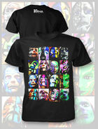 Jeff Hardy Faces T-Shirt