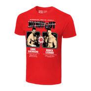 No Way Out 2004 Eddie Guerrero vs. Brock Lesnar Matchup T-Shirt