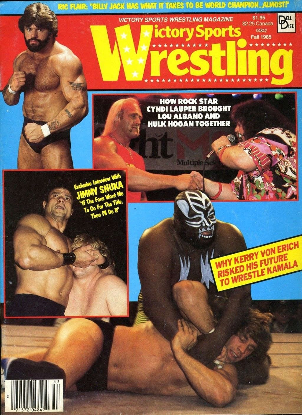 Victory Sports Wrestling - Fall 1985