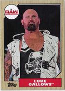2017 WWE Heritage Wrestling Cards (Topps) Luke Gallows 28