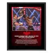 Bobby Lashley WWE Champion 10x13 Commemorative Plaque