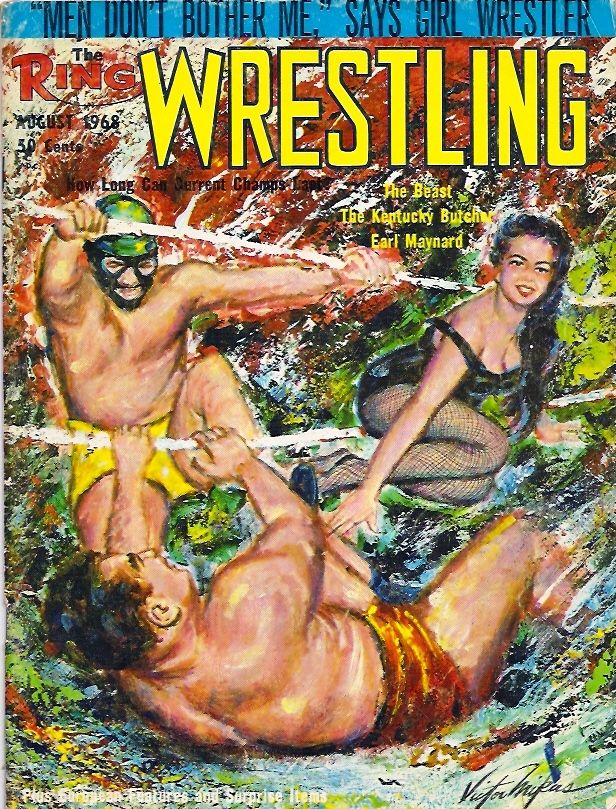 The Ring Wrestling - August 1968