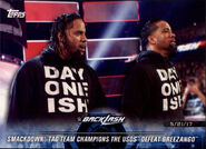 2018 WWE Road to Wrestlemania Trading Cards (Topps) The Usos 88