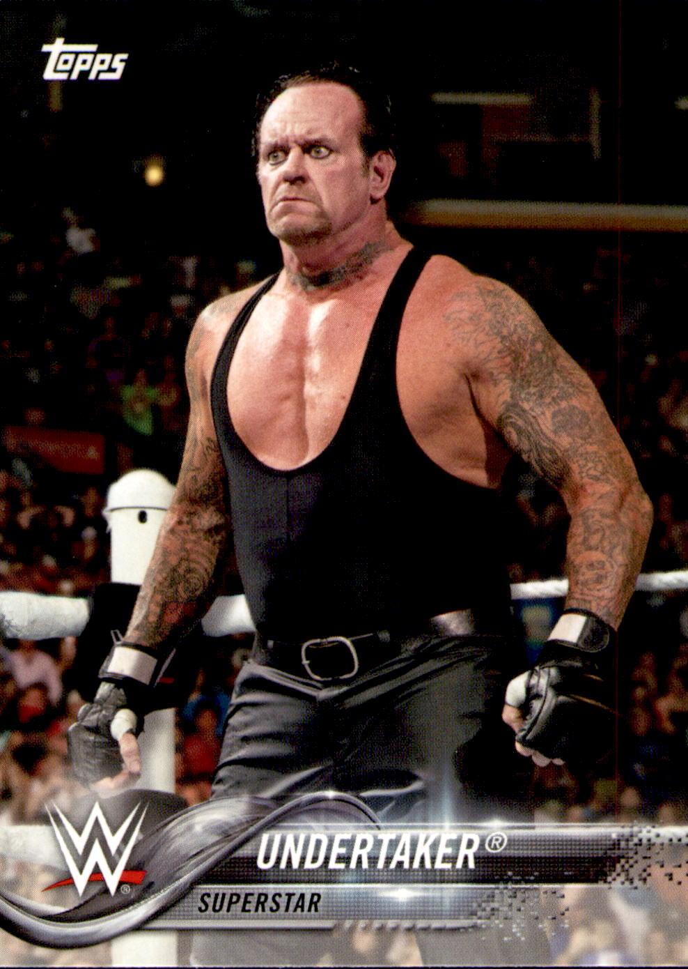 2018 WWE Wrestling Cards (Topps) Undertaker (No.96)