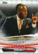 2019 WWE Raw Wrestling Cards (Topps) Booker T 11
