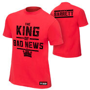 Bad News Barrett King of Bad News Youth Authentic T-Shirt