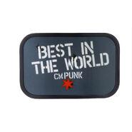 CM Punk Best In The World Belt Buckle