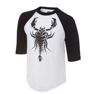 Sting The Black and White Knight Raglan T-shirt