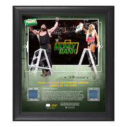 Team Little Big Money in The Bank 2018 15 x 17 Framed Plaque w Ring Canvas