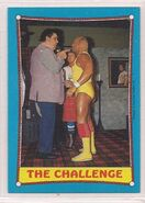 1987 WWF Wrestling Cards (Topps) The Challenge 58