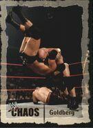 2004 WWE Chaos (Fleer) Goldberg 9