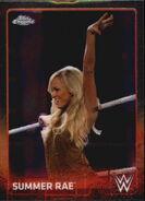 2015 Chrome WWE Wrestling Cards (Topps) Summer Rae 68