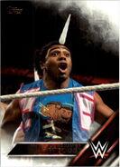 2016 WWE (Topps) Then, Now, Forever Xavier Woods 151