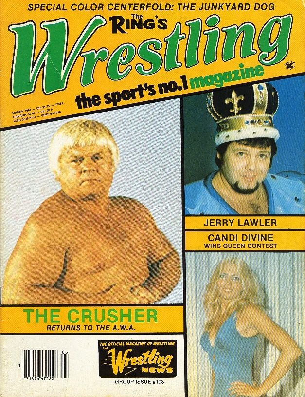 The Ring Wrestling - March 1984