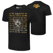 Tommaso Ciampa No One Will Survive Authentic T-Shirt