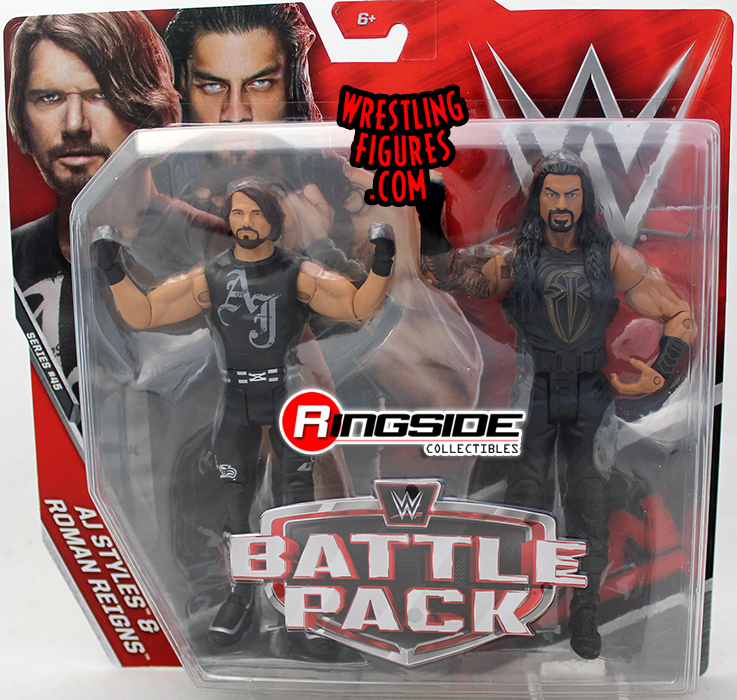 WWE Battle Packs 45