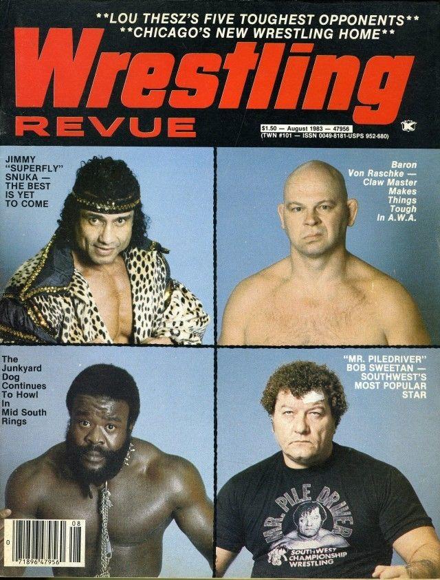Wrestling Revue - August 1983