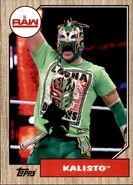 2017 WWE Heritage Wrestling Cards (Topps) Kalisto 54