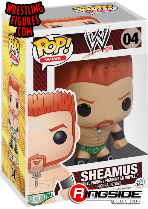 Sheamus - Pop WWE Vinyl (Series 1)