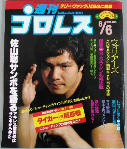 Weekly Pro Wrestling No. 104