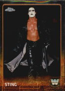 2015 Chrome WWE Wrestling Cards (Topps) Sting 89