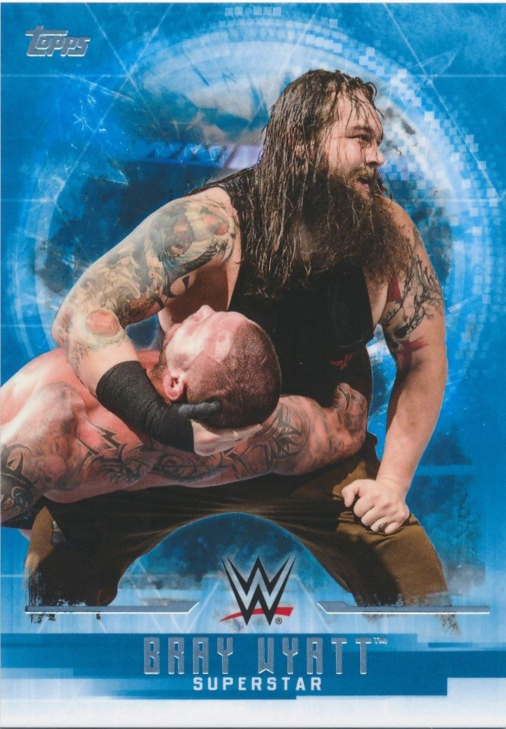 2017 WWE Undisputed Wrestling Cards (Topps) Bray Wyatt (No.6)