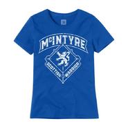Drew McIntyre Scottish Warrior Women's Authentic T-Shirt
