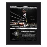 Velveteen Dream NXT TakeOver Brooklyn 2018 10 x 13 Commemorative Plaque
