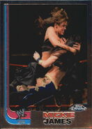 2008 WWE Heritage III Chrome Trading Cards Mickie James 67