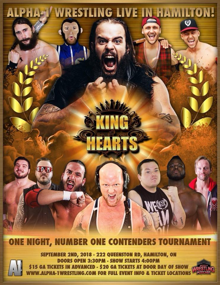 A1 King Of Hearts 2018
