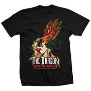 Ricky Steamboat Fire Breathing Dragon T-Shirt