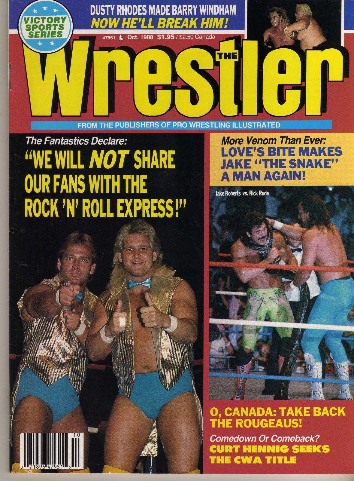 The Wrestler - October 1988