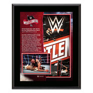 WrestleMania 36 Kevin Owens 10 x 13 Limited Edition Plaque