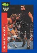 1991 WWF Classic Superstars Cards Undertaker 30