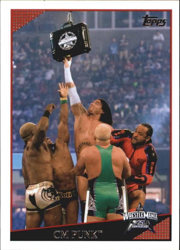 2009 WWE (Topps) CM Punk (No.79)