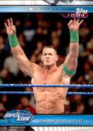 2019 WWE Road to WrestleMania Trading Cards (Topps) John Cena 87