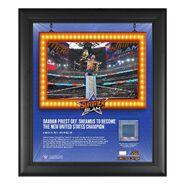 Damian Priest SummerSlam 2021 15x17 Commemorative Plaque
