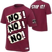 Daniel Bryan NO NO NO T-shirt