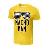 Macho Man Randy Savage NYC Legends Graphic T-Shirt