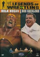 WWE Legends of Wrestling Hulk Hogan & Bob Backlund DVD cover