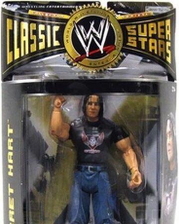 Details about  /WWE jakks classic superstars BRET HART BEST OF CLASSICS SUPERSTARS NEW!!!