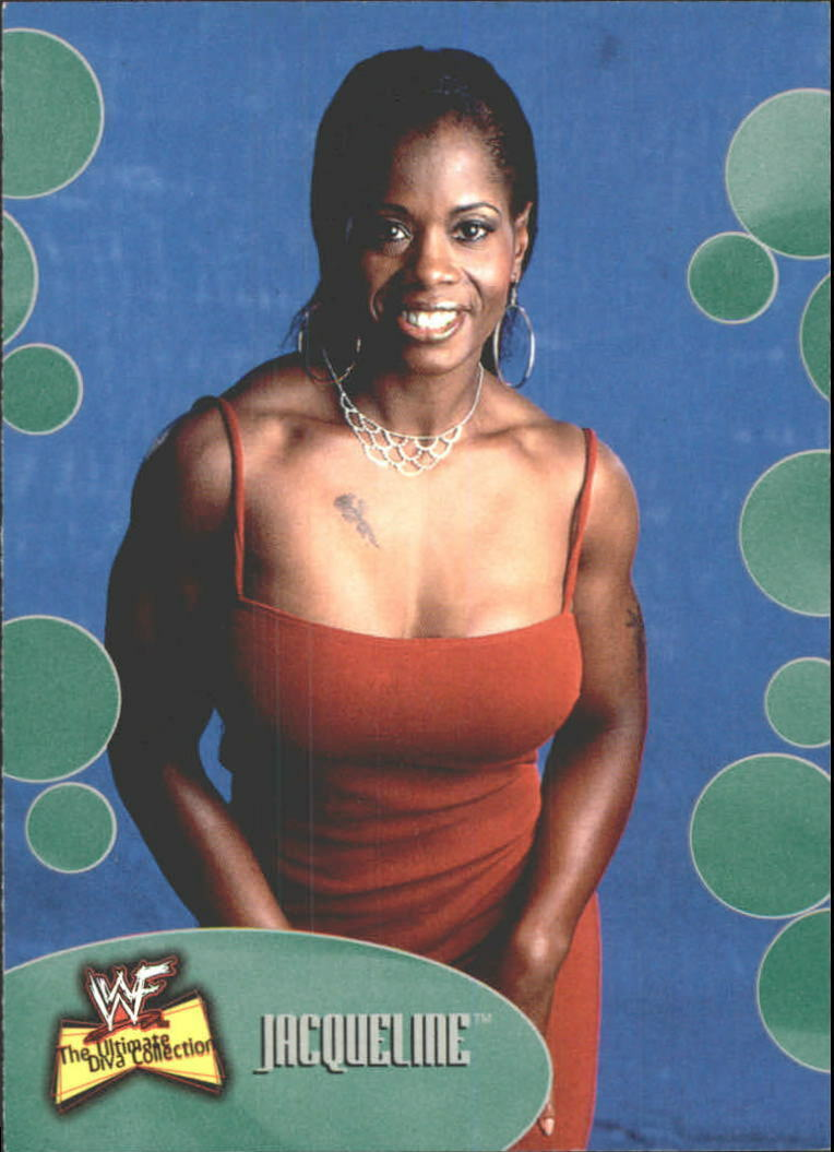 2001 WWF The Ultimate Diva Collection (Fleer) Jacqueline (No.32)