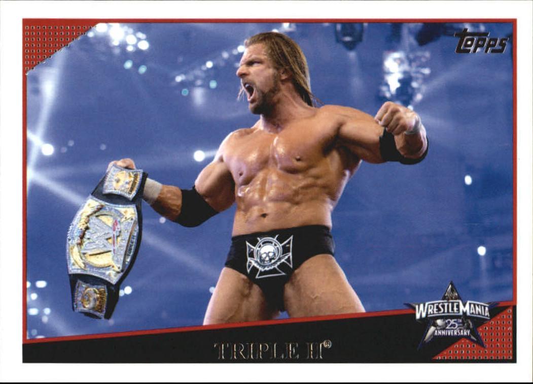 2009 WWE (Topps) Triple H (No.88)