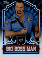 2011 Topps WWE Classic Wrestling Big Boss Man 80