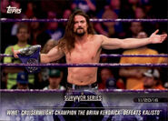 2018 WWE Road to Wrestlemania Trading Cards (Topps) The Brian Kendrick 49