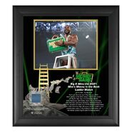 Big E Money In The Bank 15x17 Commemorative Plaque
